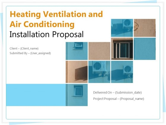 Heating_Ventilation_And_Air_Conditioning_Installation_Proposal_Ppt_PowerPoint_Presentation_Complete_Deck_With_Slides_Slide_1