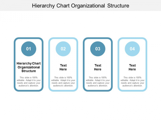 Hierarchy Chart Organizational Structure Ppt PowerPoint Presentation Icon Guide Cpb