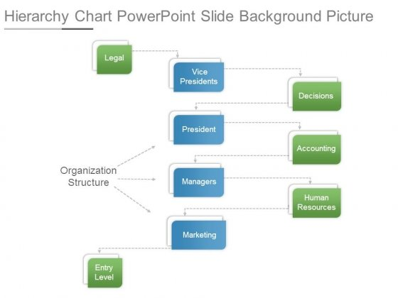 Hierarchy Chart Powerpoint Slide Background Picture