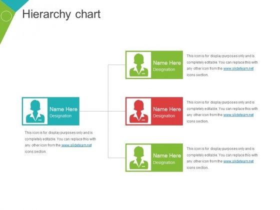 Hierarchy Chart Ppt PowerPoint Presentation Infographics Visuals