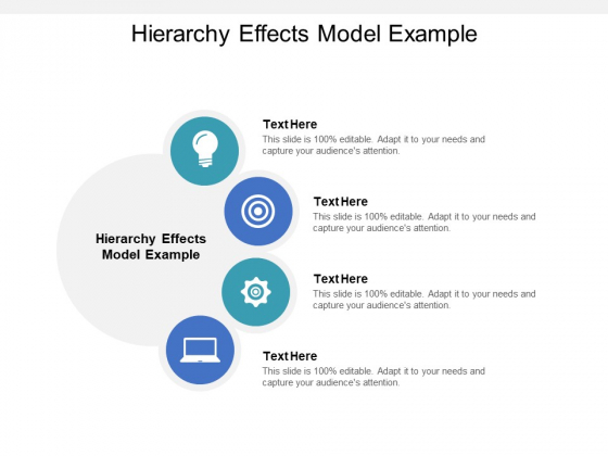 Hierarchy Effects Model Example Ppt PowerPoint Presentation Summary Template Cpb Pdf