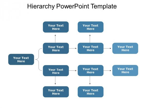 Hierarchy Free PowerPoint Diagram