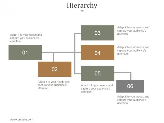 Hierarchy Ppt PowerPoint Presentation Information