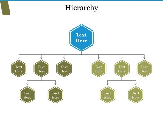 Hierarchy Ppt PowerPoint Presentation Model Rules