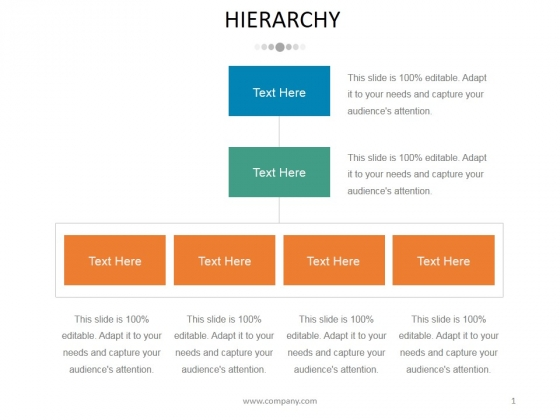 Hierarchy Ppt PowerPoint Presentation Pictures Deck