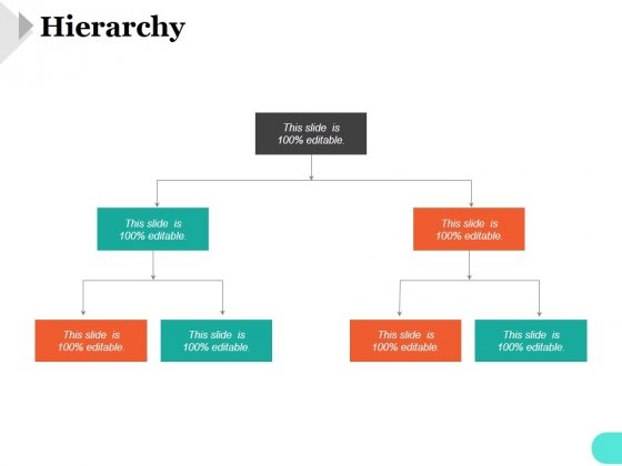 Hierarchy Ppt PowerPoint Presentation Shapes