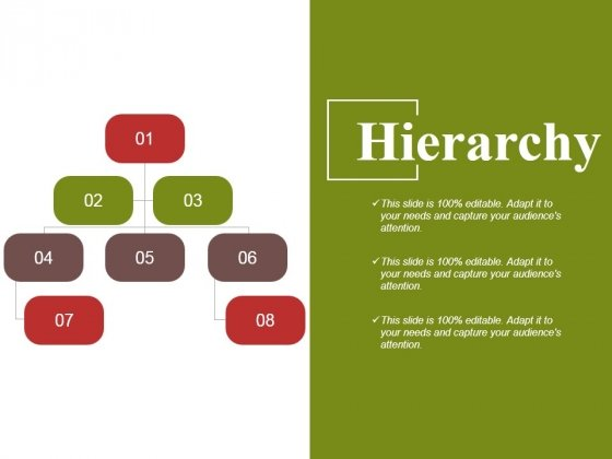 Hierarchy Ppt PowerPoint Presentation Slides Introduction