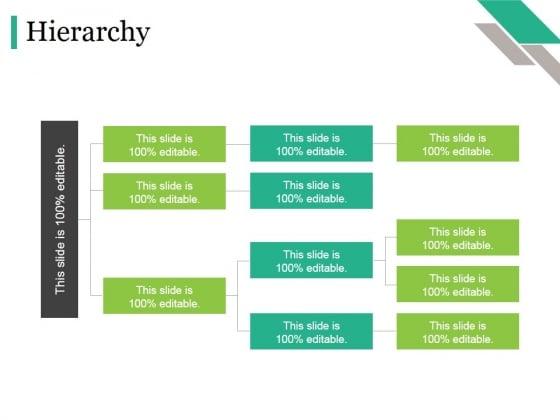 Hierarchy Ppt PowerPoint Presentation Summary Skills