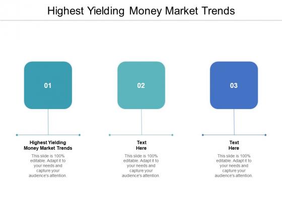 Highest Yielding Money Market Trends Ppt PowerPoint Presentation File Mockup Cpb Pdf