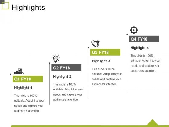 Highlights Ppt PowerPoint Presentation Pictures Graphics Example
