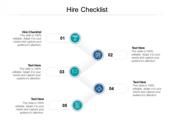 Hire Checklist Ppt PowerPoint Presentation Model Background Designs Cpb