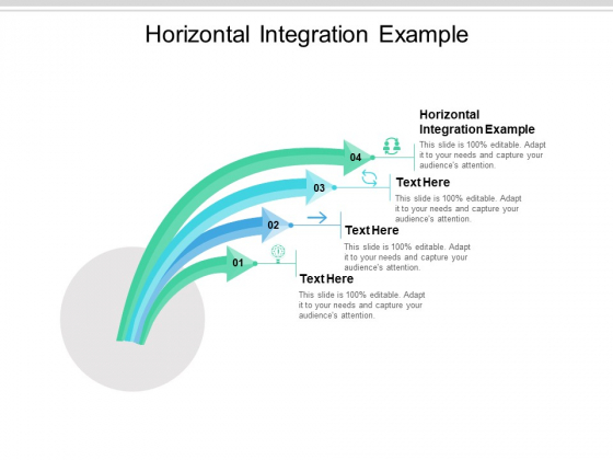 Horizontal Integration Example Ppt PowerPoint Presentation Infographic Template Summary Cpb