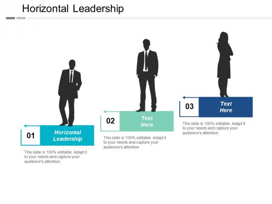 Horizontal Leadership Ppt PowerPoint Presentation Professional Designs Download Cpb