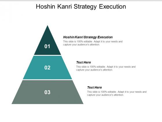 Hoshin Kanri Strategy Execution Ppt Powerpoint Presentation Portfolio Layouts Cpb