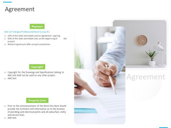 House Decoration Proposal Agreement Ppt Slides Background Image PDF