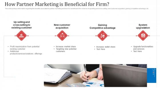 How Partner Marketing Is Beneficial For Firm Ppt Infographic Template Ideas PDF