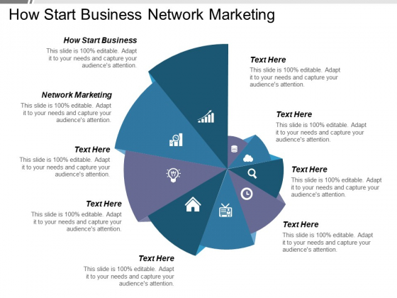 How Start Business Network Marketing Ppt PowerPoint Presentation Infographics Example File
