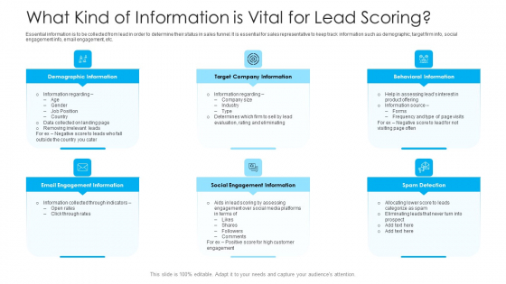 How To Build A Revenue Funnel What Kind Of Information Is Vital For Lead Scoring Rules PDF