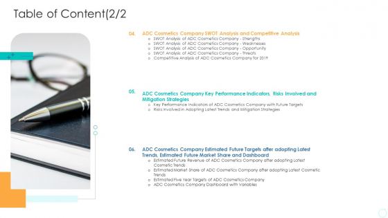 How_To_Use_Trends_Gain_Competitive_Advantage_Case_Competition_Table_Of_Content_Analysis_Structure_PDF_Slide_1