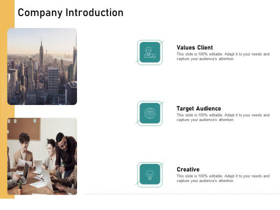 How Transform Segments Company Harmony And Achievement Company Introduction Professional PDF