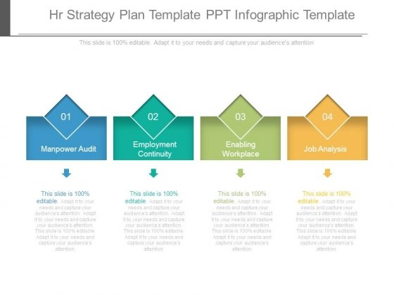 Hr Strategy Plan Template Ppt Infographic Template  Powerpoint