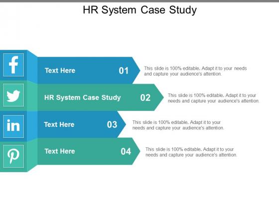Hr System Case Study Ppt PowerPoint Presentation Slides Portrait