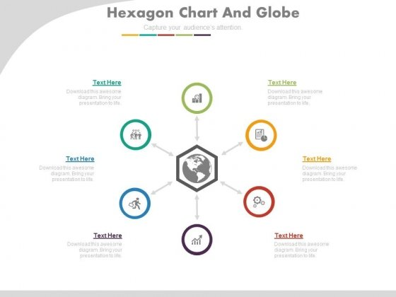 Hub And Spokes Chart For Global Business Planning Powerpoint Slides