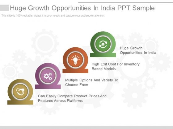 Huge Growth Opportunities In India Ppt Sample