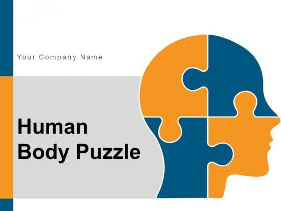 Human Body Puzzle Communication Plan Ppt PowerPoint Presentation Complete Deck