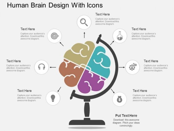 Human_Brain_Design_With_Icons_Powerpoint_Template_1