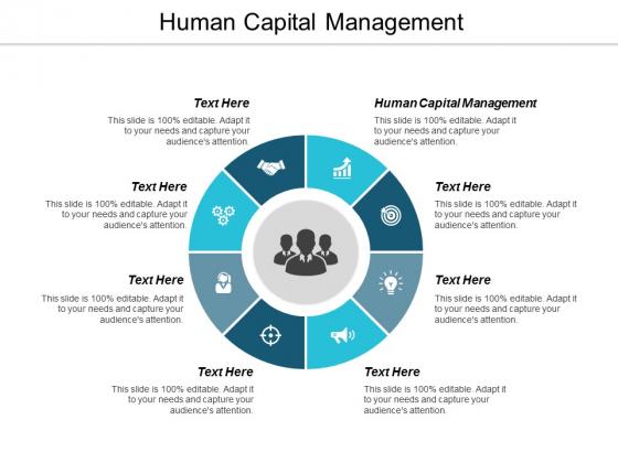 Human Capital Management Ppt Powerpoint Presentation Slides Images Cpb