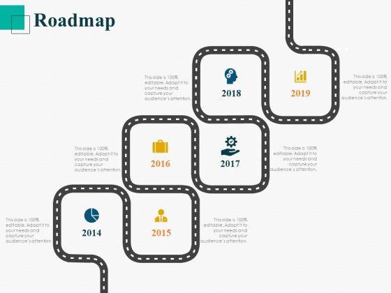 Human Capital Management Procedure Roadmap Ppt Layouts Icon PDF