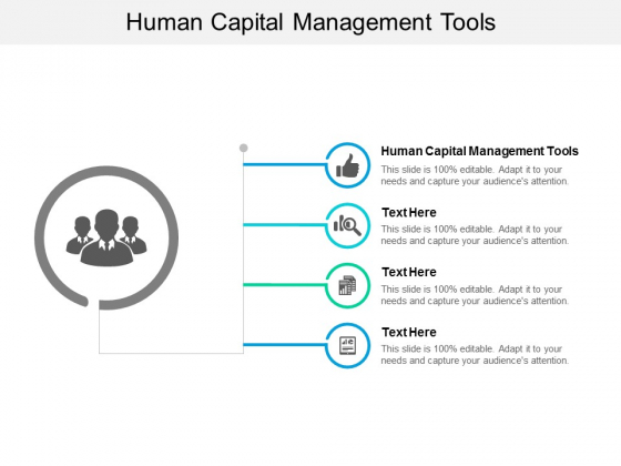 Human Capital Management Tools Ppt PowerPoint Presentation Styles Files Cpb