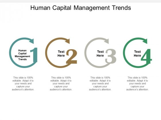Human Capital Management Trends Ppt PowerPoint Presentation Summary Influencers Cpb