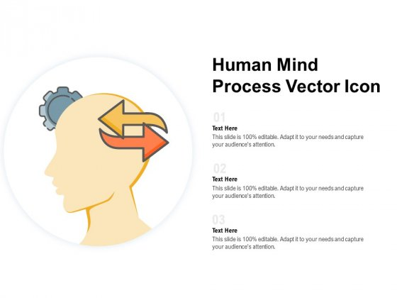 Human Mind Process Vector Icon Ppt PowerPoint Presentation Portfolio Picture