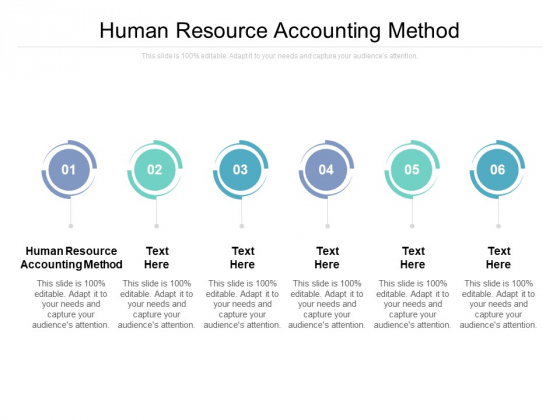 Human Resource Accounting Method Ppt PowerPoint Presentation Inspiration Example File Cpb