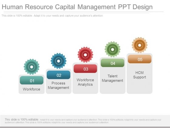 Human Resource Capital Management Ppt Design