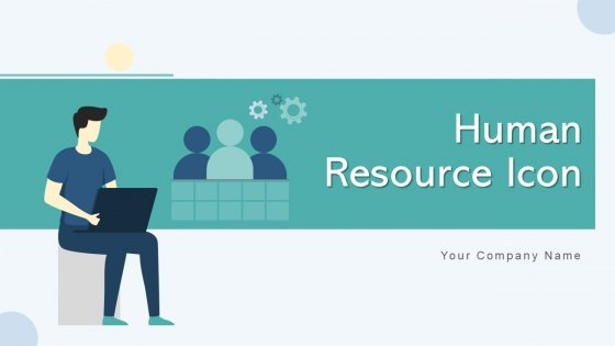 Human Resource Icon Business Inventory Ppt PowerPoint Presentation Complete Deck With Slides