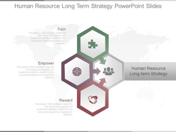Human Resource Long Term Strategy Powerpoint Slides