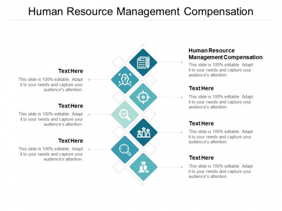 Human Resource Management Compensation Ppt PowerPoint Presentation Pictures Slide Download Cpb