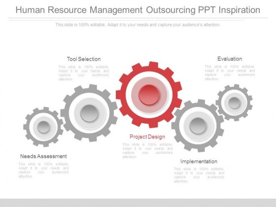 Human Resource Management Outsourcing Ppt Inspiration