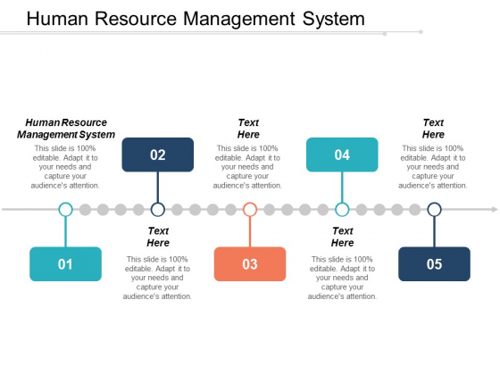 Human Resource Management System Ppt PowerPoint Presentation Ideas Graphic Tips Cpb