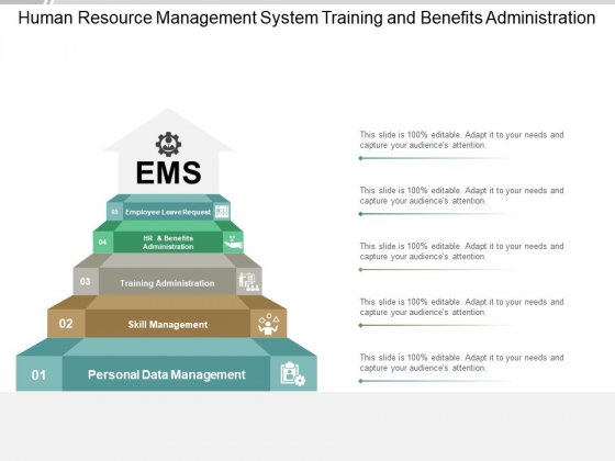 Human Resource Management System Training And Benefits Administration Ppt PowerPoint Presentation Slide Download
