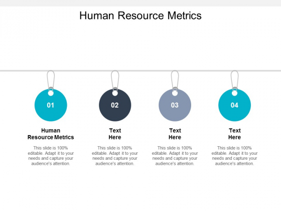 Human Resource Metrics Ppt PowerPoint Presentation Ideas Outline Cpb