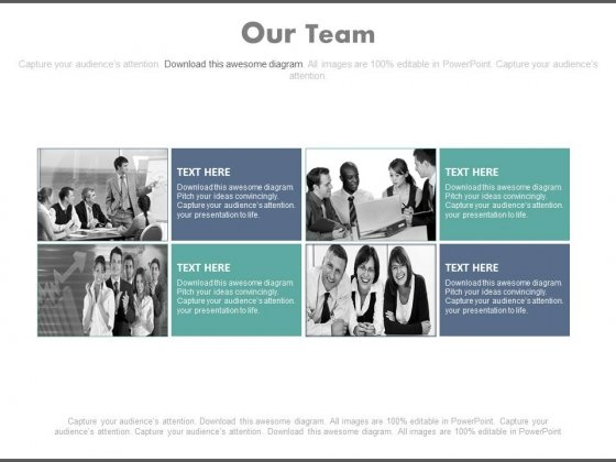 Human Resource People Team Powerpoint Slides