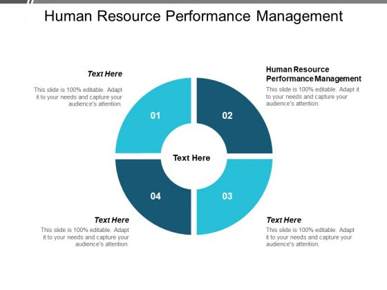 Human Resource Performance Management Ppt PowerPoint Presentation Gallery Pictures Cpb