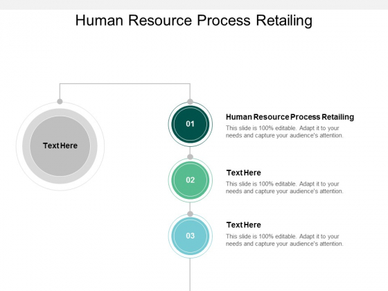 Human Resource Process Retailing Ppt PowerPoint Presentation Show Ideas Cpb