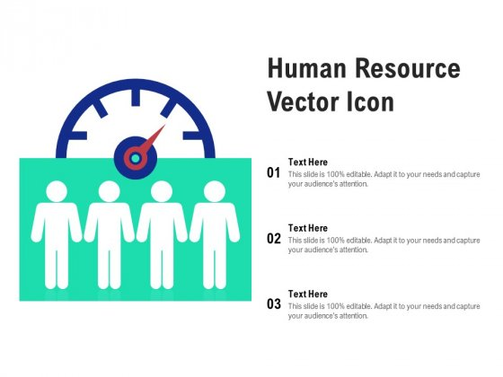Human Resource Vector Icon Ppt PowerPoint Presentation Slides Influencers