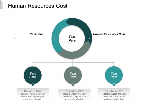 Human Resources Cost Ppt PowerPoint Presentation Gallery Shapes Cpb