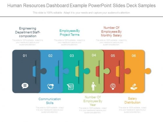 Human Resources Dashboard Example Powerpoint Slides Deck Samples